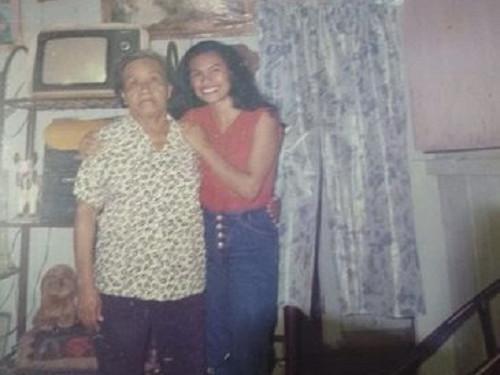 Para Márcia Kambeba, a avó Assunta, que faleceu em 2001, é a referência de vida - Arquivo pessoal