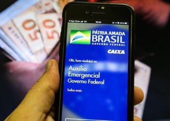 Saque do auxílio emergencial. Foto: Marcello Casal Jr/Agência Brasil