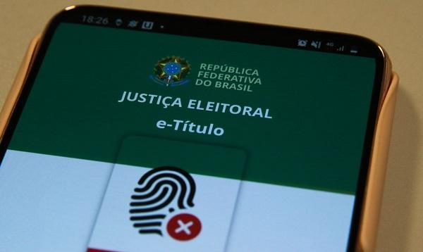 e-Título é um aplicativo móvel para obtenção da via digital do título de eleitor. Foto: Marcello Casal Jr./Agência Brasil