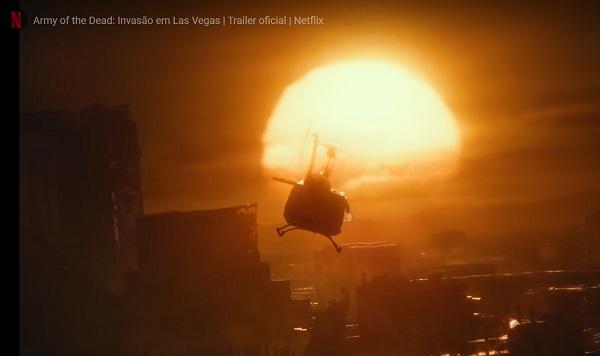 Cena do filme Army of the dead, do Netflix. Foto: Divulgação