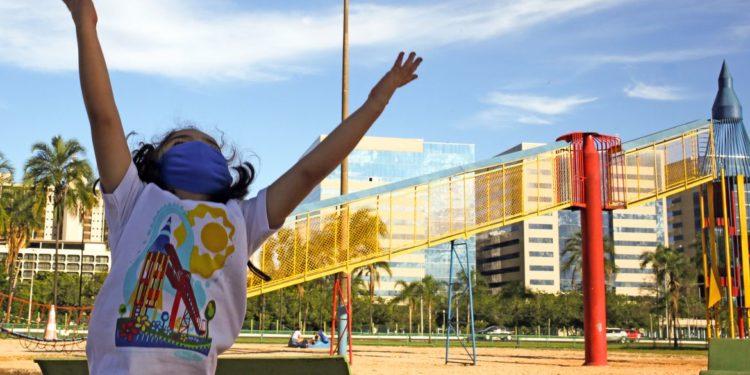 Dia da criança, criança, parque da cidade